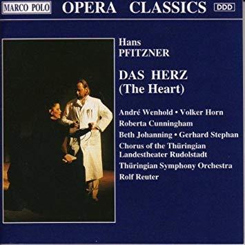 Pfitzner - Wenhold, Horn, Cunningham, Johanning, Stephan, Rolf Reuter Das Herz (The Heart) Vinyl