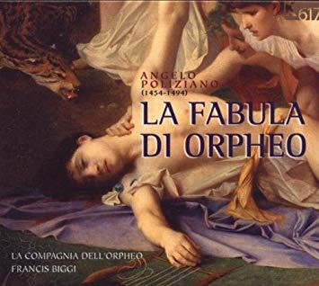Poliziano - Francis Biggi La Fabula Di Orpheo Vinyl