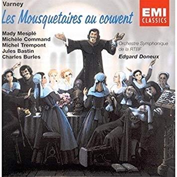 Varney - Mady Mesple, Michele Command, Michel Trempont, Jules Bastin, Charles Burles, Edgard Doneux Les Mousquetaires au Couvent Vinyl