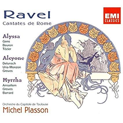 Ravel - Michel Plasson Cantates de Rome Vinyl