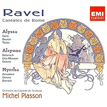 Ravel - Michel Plasson Cantates de Rome