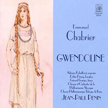Chabrier - Kohutkova, Henry, Garino, Jean-Paul Penin Gwendoline Vinyl
