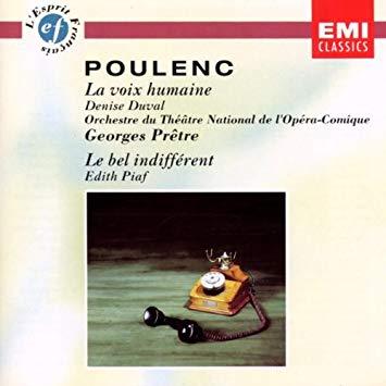 Poulenc - Denise Duval, Georges Pretre, Edith Piaf La Voix Humaine / La Bel Indifferent Vinyl
