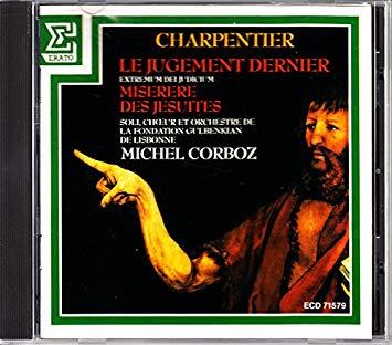 Charpentier - Michel Corboz Le Jugement Dernier Vinyl