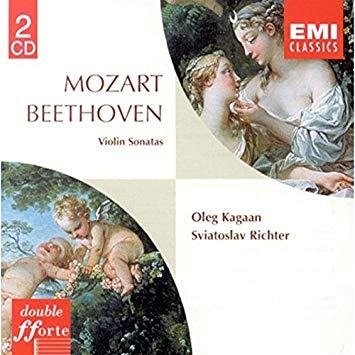 Mozart, Beethoven, Kagaan, Richter Violin Sonatas