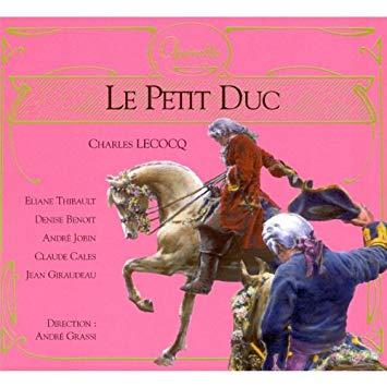 Lecocq - Thibault, Benoit, Jobin, Cales, Giraudeau, Andre Grassi Le Petit Duc