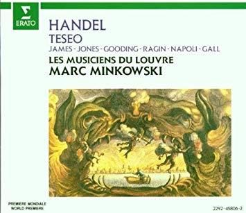Handel - Marc Minkowski, James, Jones, Gooding, Ragin, Napoli, Gall, Les Musiciens Du Louvre Teseo Vinyl