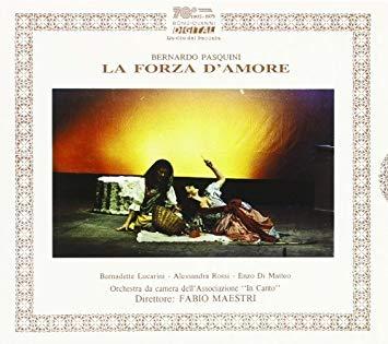 Pasquini - Bernadette Lucarini, Alessandra Rossi, Enzo Di Matteo, Fabio Maestri La Forza D'Amore Vinyl