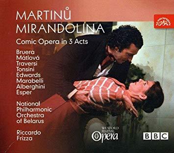 Martinu - Bruera, Matlova, Traversi, Tonsini, Edwards, Marabelli, Alberghini, Esper, Riccardo Frizza Mirandolina