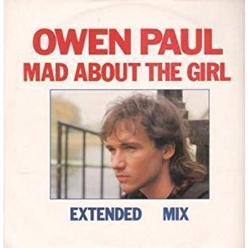 Paul, Owen Mad About The Girl Vinyl