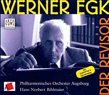 Egk - Hans Norbert Behlmaier Der Revisor Vinyl