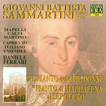 Sammartini - Mapelli, Calvi, Martino, Daniele Ferrari Il Pianto delle Pie Donne / Pianto di Maddalena al Sepolcro CD