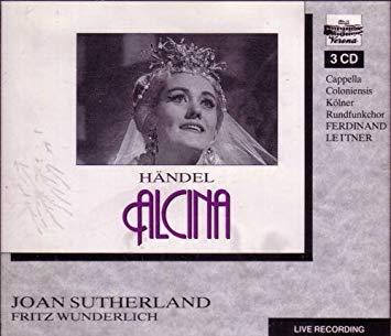 Handel - Joan Sutherland, Fritz Wunderlich, Ferdinand Leitner Alcina Vinyl