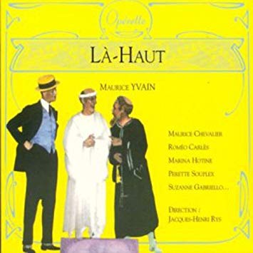 Yvain - Chevalier, Carles, Hotine, Souplex, Gabriello, Jacques-Henri Rys La-Haut Vinyl