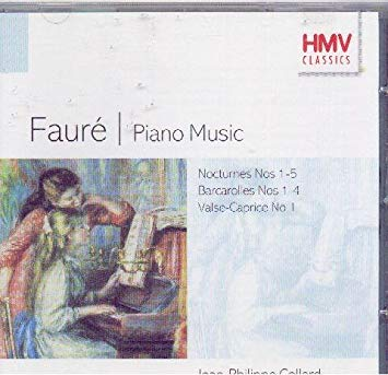Faure - Jean-Philippe Collard Piano Music CD