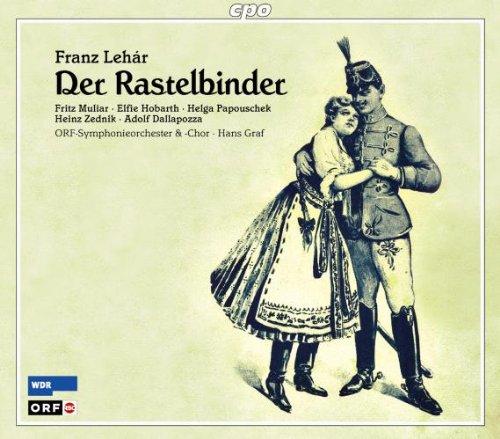 Lehar - Muliar, Hobarth, Papouschek, Zednik, Dallapozza, Hans Graf Der Rastelbinder Vinyl