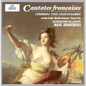 Clerambault / Stuck / Blamont - Marc Minkowski. Smith, Delunsch, Felix Cantates Francaises Vinyl