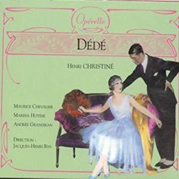 Christine - Maurice Chevalier, Marina Hotline, Andree Grandjean, Jacques-Henri Rys Dede Vinyl
