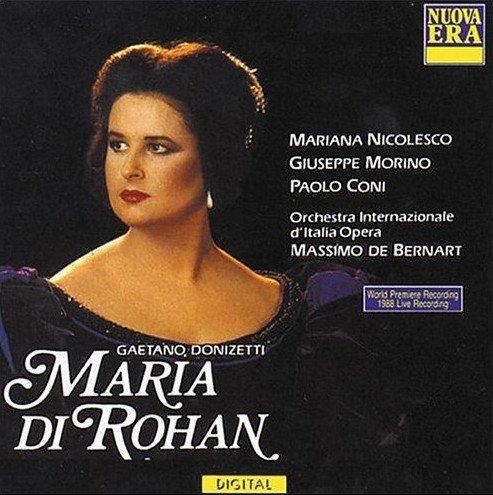 Donizetti - Mariana Nicolesco, Giuseppe Morino, Paolo Coni, Massimo De Bernart Maria Di Rohan Vinyl