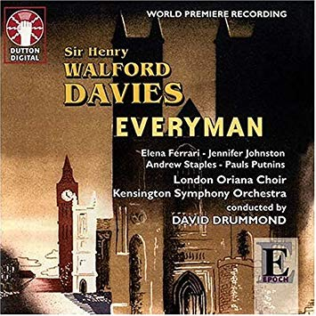 Davies - Ferrari, Johnston, Staples, Putnins, David Drummond Everyman Vinyl