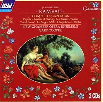 Rameau - Gary Cooper Complete Cantatas Vinyl