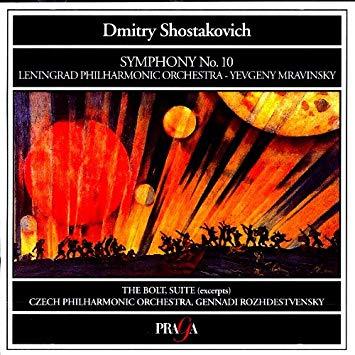 Shostakovich - Yevgeny Mravinsky, Gennadi Rozhdestvensky Symphony No. 10 / The Bolt (Excerpts) Vinyl