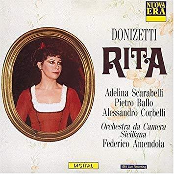 Donizetti - Scarabelli, Ballo, Corbelli, Federico Amendola Rita Vinyl