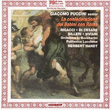 Puccini - Rigacci, Di Cesare, Billeri, Viviani, Herbert Handt La Confederazione dei Sabini con Roma Vinyl