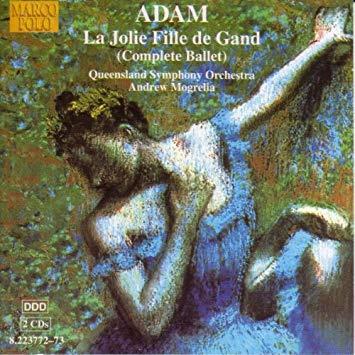 Adam - Andrew Mogrelia La Jolie Fille de Gand Vinyl