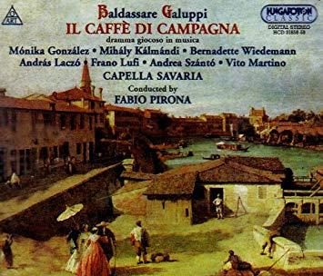 Gallupi - Gonzalez, Kalmandi, Wiedemann, Laczo, Lufi, Szanto, Martino, Fabio Pirona Il Caffe Di Campagna CD