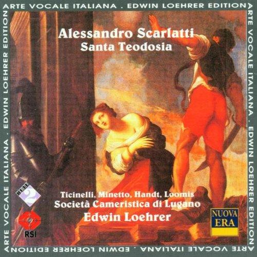 Scarlatti - Ticinelli, Minetto, Handt, Loomis, Edwin Loehrer Santa Teodosia  Vinyl