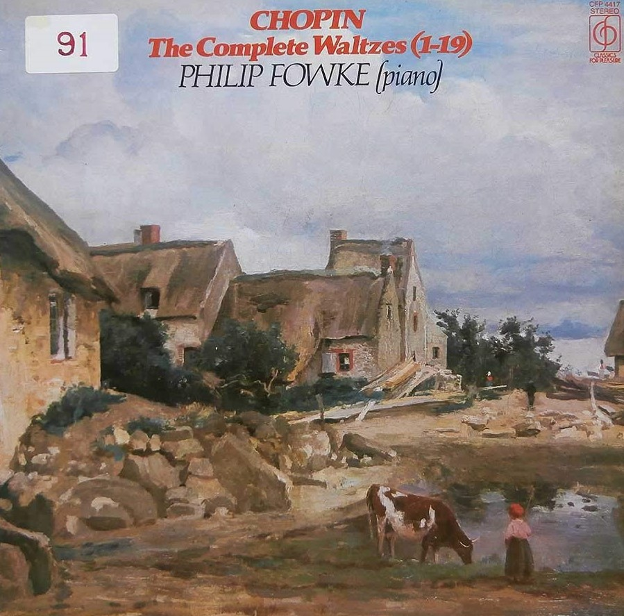 Chopin - Philip Fowke The Complete Waltzes (1-19) Vinyl