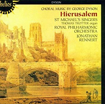 Dyson - Thomas Trotter, Jonathan Rennert Hierusalem Vinyl