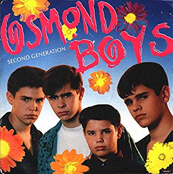 Osmond Boys Second Generation Vinyl