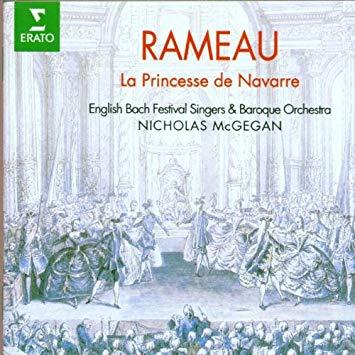 Rameau - Nicholas McGegan La Princesse de Navarre Vinyl