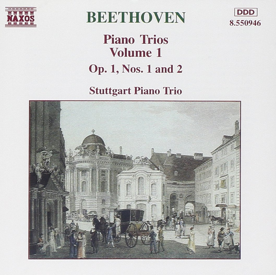 Beethoven, Stuggart Piano Trio Beethoven: Piano Trios Vol. 1