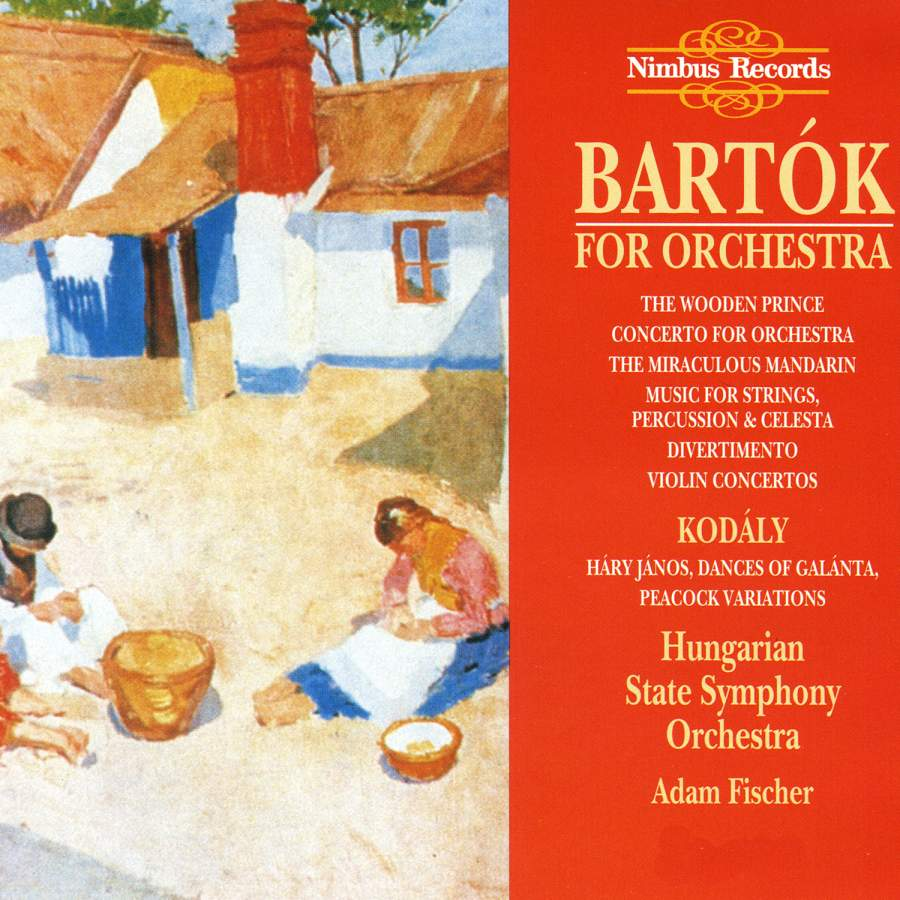 Bartok - Adam Fischer Bartok For Orchestra CD