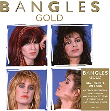 Bangles Gold Vinyl