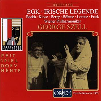 Egk - Borkh, Klose, Berry, Bohme, Lorenz, Frick, George Szell Irische Legende Vinyl