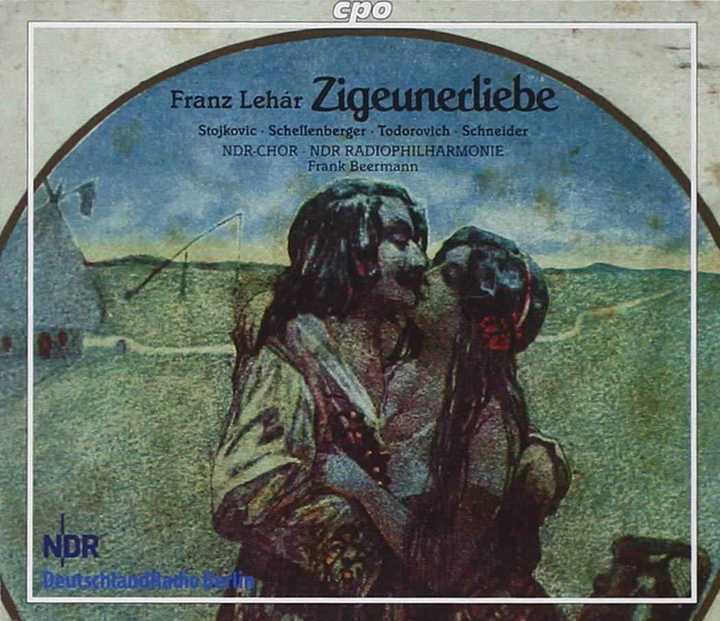 Lehar - Stojkovic, Schellenberger, Todorovich, Schneider, Frank Beermann Zigeunerliebe Vinyl