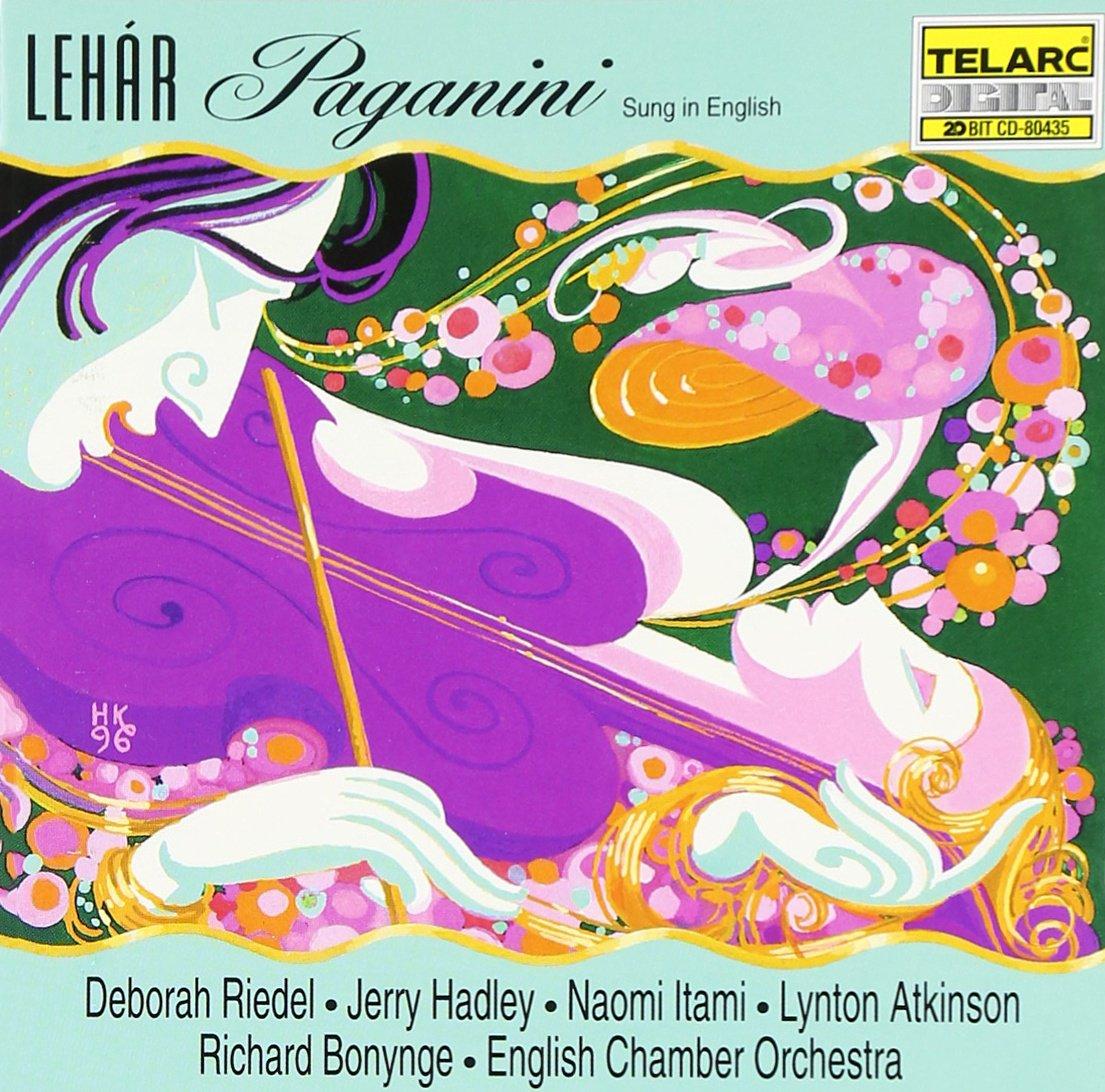 Lehar - Riedel, Hadley, Itami, Atkinson, Bonynge Paganini Vinyl