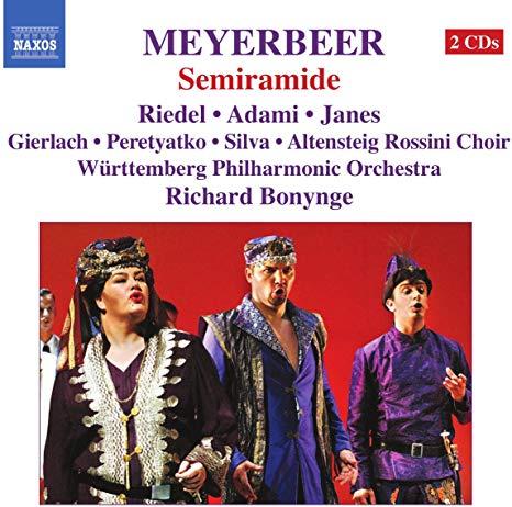Meyerbeer - Riedel, Adami, Janes, Gierlach, Peretyatko, Silva, Richard Bonynge Semiramide