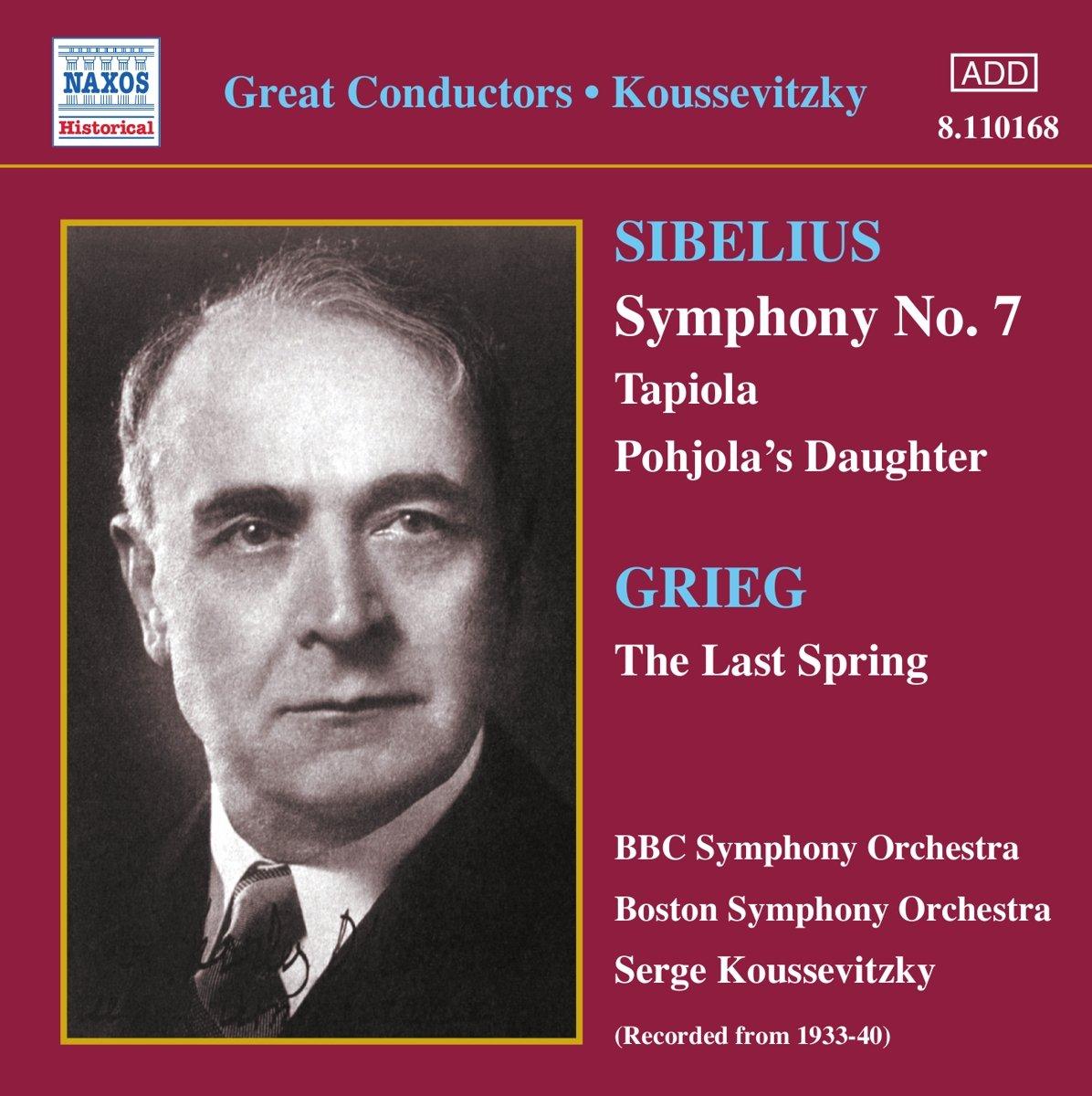 Sibelius, Grieg, Serge Koussevitzky Great Conductors - Koussevitzky Vinyl