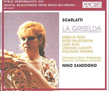 Scarlatti - Freni, Bruscantini, Alva, Luchetti, Panerai, Nino Sanzogno La Griselda