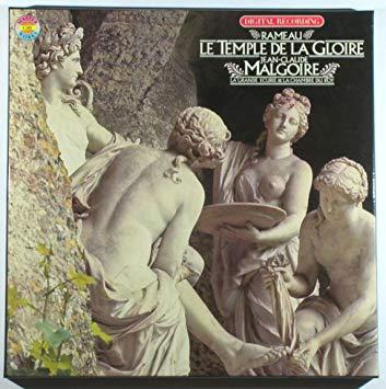 Rameau - Bellamy, Reinhart, Elwes, Poulenard, Jean-Claude Malgoire Le Temple De La Gloire Vinyl