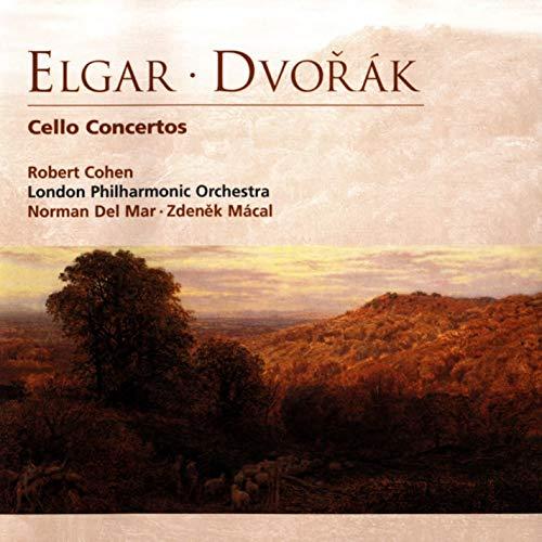Elgar / Dvorak - Robert Cohen, Norman Del Mar, Zdenek Macal Cello Concertos