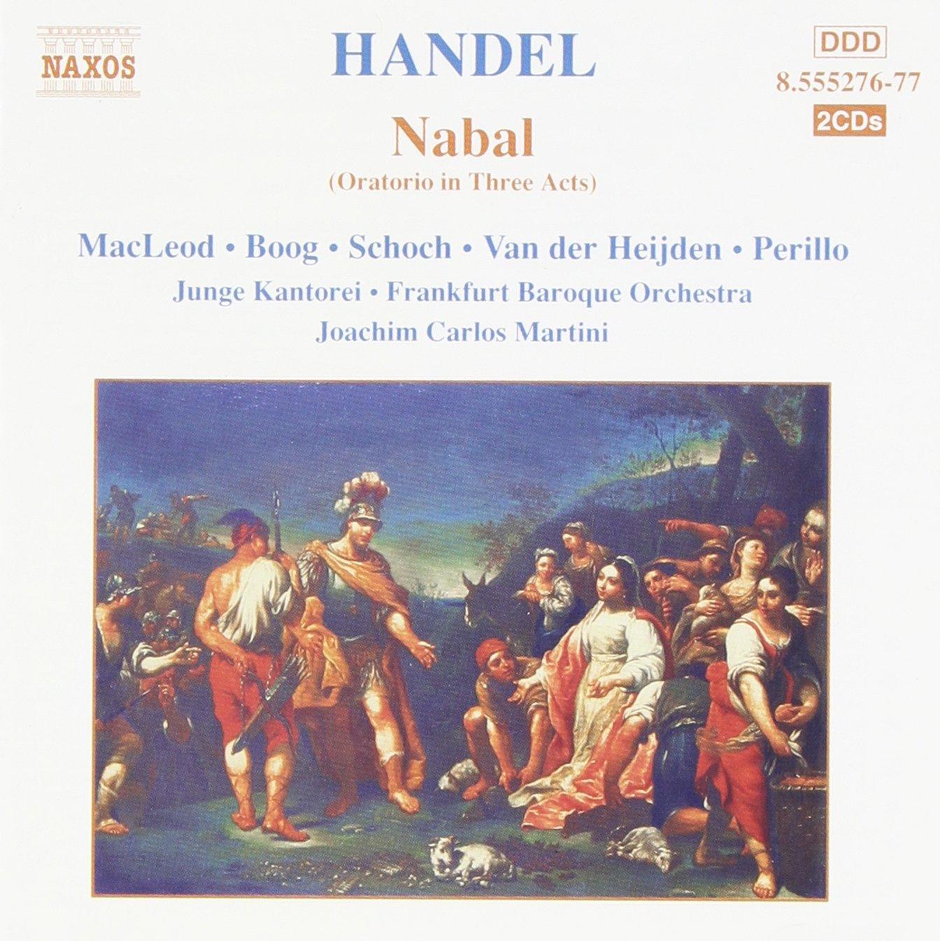 Handel - MacLeod, Boog, Schoch, Van der Heijden, Perillo, Joachim Carlos Martini Nabal Vinyl