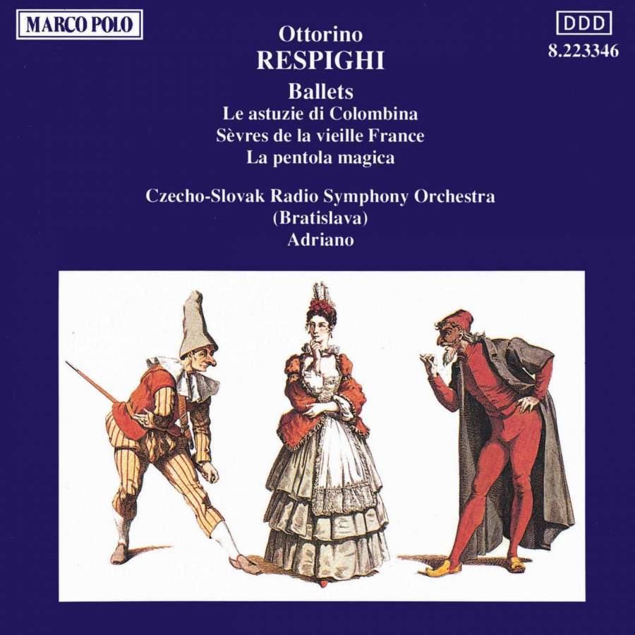 Respighi - Adriano Ballets Vinyl
