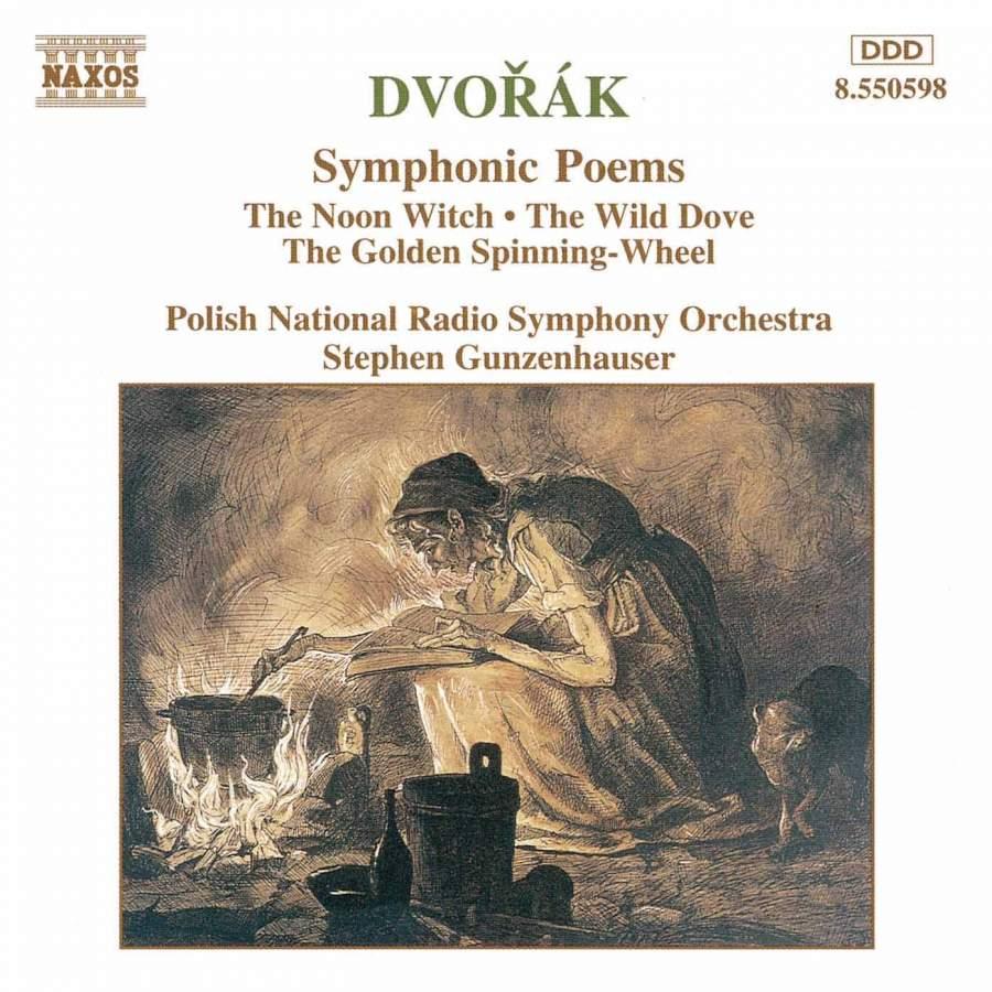 Dvorak - Stephen Gunzenhauser Symphonic Poems Vinyl
