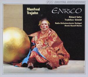 Trojahn - Richard Salter, Trudeliese Schmidt, Dennis Russell Davies Enrico Vinyl